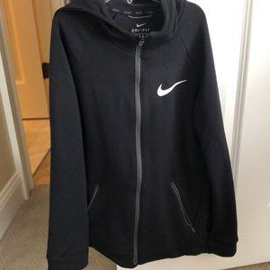 Nike black dri fit sweatshirt